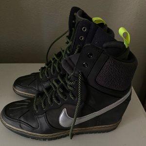 Nike sneakerboot wedge waterproof